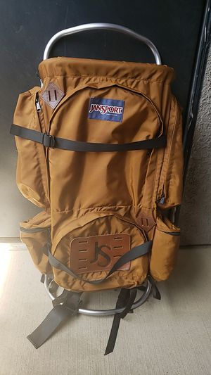 Vintage Jansport D Series External Frame Hiking / Camping Backpack with Hip Wings for Sale in Las Vegas, NV