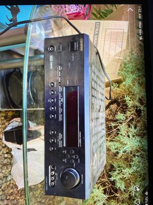 Onkyo home receiver for Sale in Wheat Ridge, CO