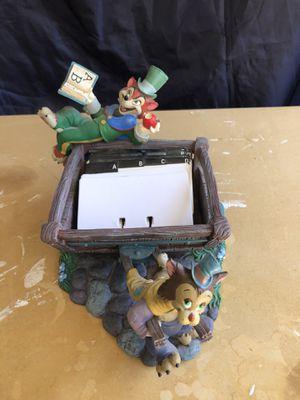 Disney's Pinocchio Rolodex Card Holder for Sale in Surprise, AZ