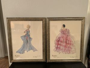 Authentic Matel Barbie Prints (From Barbie Inc. Directly) for Sale in Aurora, CO