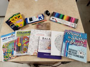 Adult Coloring Books & Accessories for Sale in Palmyra, PA