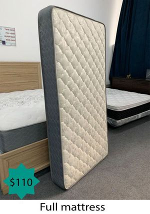Full mattress for Sale in Costa Mesa, CA