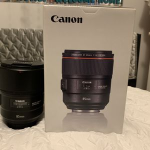 Canon 85mm L F/1.4 for Sale in Lawrence, NY