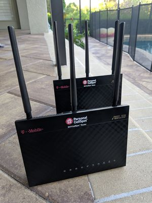 2 Asus RT-68U Routers for Sale in Odessa, FL