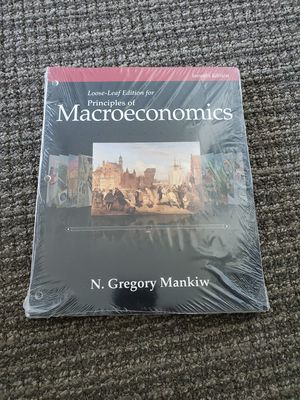 [New] Loose-Leaf Edition for Principles of Macroeconomics 7th Edition for Sale in Redwood City, CA