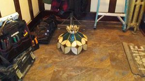 Antique stained glass Inlet hanging lamp for Sale in Detroit, MI
