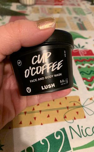 Brand new LUSH cup o'coffee face and body mask for Sale in Denver, CO