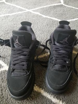 Retro 4's Jordan's Black Cat still new.. size 4y boys for Sale in Hampton, VA