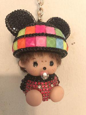 Keychain Bag Charms so Cute Rhinestone for Sale in Alexandria, VA