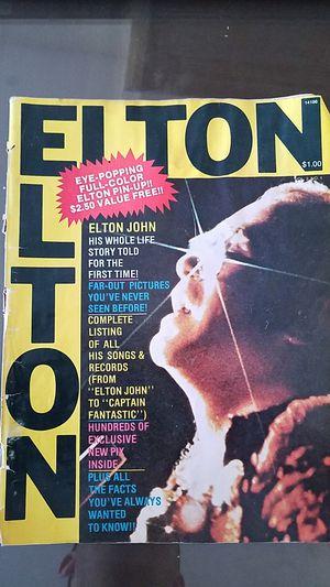 1975 Elton John collectors magazine for Sale in Rockville, MD