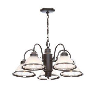 Rustic 5-Light Oil Rubbed Bronze Chandelier For Indoor Living Room Kitchen Bedroom Office for Sale in Henderson, NV