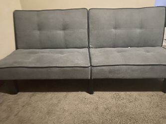 Grey Futon for Sale in Cleveland,  OH