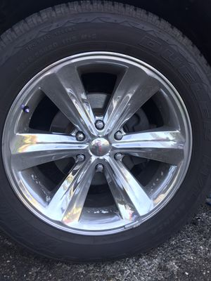 Custom rims and new tires P275/55R20 for Sale in Federal Way, WA