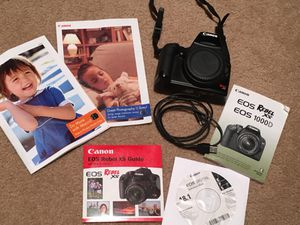 Canon XS WITH 18-55MM kit lense for Sale in Henderson, NV