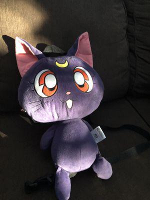 SAILOR MOON anime plush cat backpack for Sale in Huntington Beach, CA