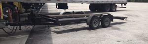 Custom car trailer with ramps & winch for Sale in Hollywood, FL