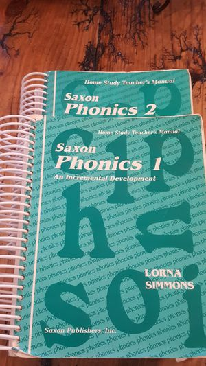 Saxon Phonics Home Study Teacher's Manual 1&2 for Sale in Lynchburg, VA
