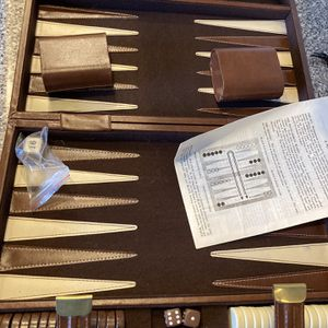 Vintage Backgammon Game for Sale in Waterford, NJ
