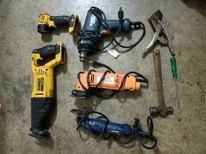 DeWalt, Black & Decker, Ryobi, Chicago Tools for Sale in Fontana, CA