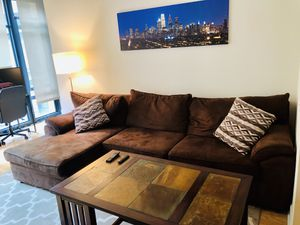 Sofa with chaise for Sale in Washington, DC