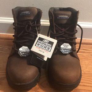 Skechers Work Made To Last Steel Toe Shoe for Sale in Lawrenceville, GA