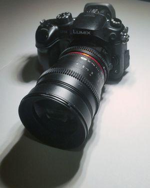 Lumix gh4 + metabones SB xl 0.64x for ef lenses + rokinon cine lens 35mm for Sale in Houston, TX