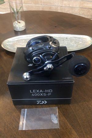 Daiwa LEXA-HD 400XS-P Fishing Reel for Sale in Hacienda Heights, CA