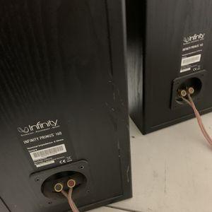 (2) Infinity Primus speakers for Sale in Chula Vista, CA