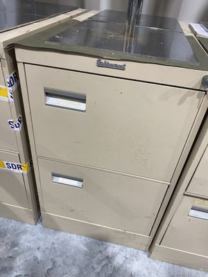 Heavy duty metal file cabinets 2 drawers for Sale in MAGNOLIA SQUARE, FL
