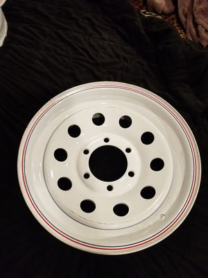 1 -new trailer wheel 16x6 6/5.5 $15 !!sold as it is !! for Sale in Norwalk, CA