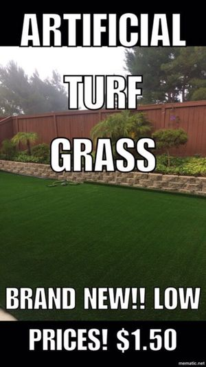 Artificial turf! Grass! Synthetic great quality brand new for Sale in Poway, CA