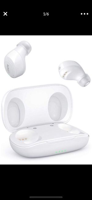 True Wireless Earbuds, Bluetooth 5.0 Headphones with IPX5 Water-Resistant, Built-in Mic & Sport Headphones, Portable HiFi Stereo with Charging case for Sale in Redmond, WA