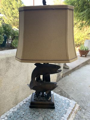 Lamp with Fishing Motif— 2 Available—$50 each (IN GLENDALE) for Sale in Glendale, CA