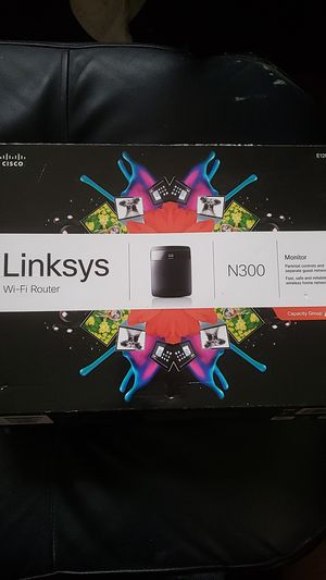 Linksys N300 Wifi Router for Sale in Arvada, CO