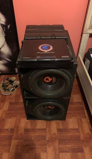Quantum audio 12's and amps for Sale in Dallas, TX