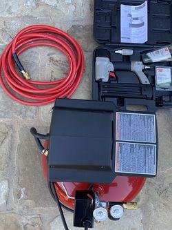 Porter Cable Pancake Compressor With Brad Nail Gun for Sale in Yorba Linda,  CA