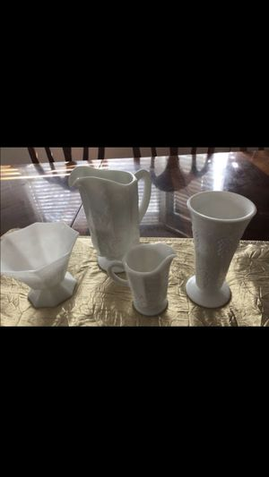 Milk glass collection for Sale in Arvada, CO