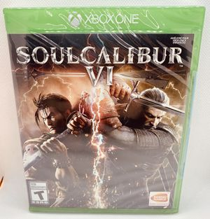 SOUL CALIBUR VI XBOX ONE XB1 Brand New Factory Sealed Microsoft Bandai for Sale in Puyallup, WA