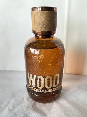 3.4oz Wood DSQUARED2 Eau de Toilette for Sale in San Diego, CA