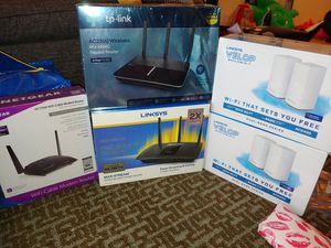 Routers and modems $100 each for Sale in Rockville, MD