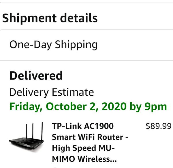 TP-Link AC1900 Smart WiFi Router - High Speed MU- MIMO Wireless...