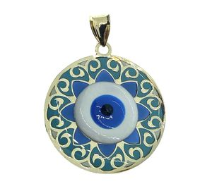 14kt gold evil eye charm pendant for Sale in Los Angeles, CA