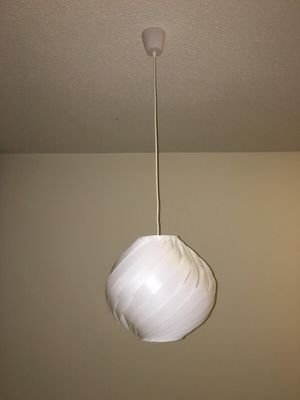Modern Hanging Light Fixture for Sale in Bethesda, MD