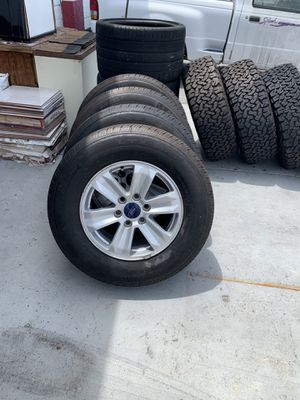 Ford F-150 Wheels and Tires - Almost New for Sale in New Port Richey, FL