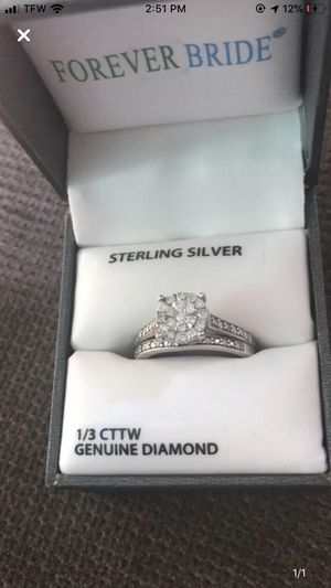 Wedding ring and band for Sale in Peoria, IL