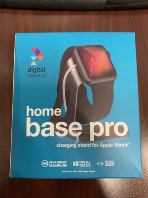 Apple Watch home base pro stand silver for Sale in Rancho Cordova, CA