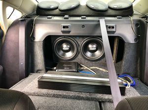 CAR AUDIO SOUND SYSTEM for Sale in Kailua, HI