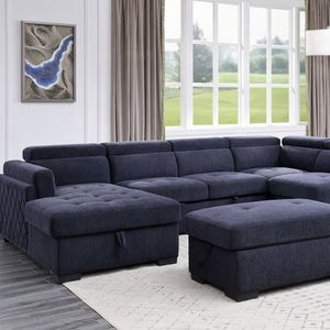 New Storage Sleeper Sectional For Only $1,600 for Sale in Chino, CA