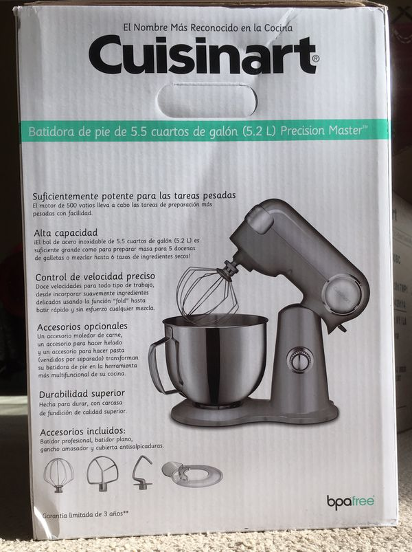 Cuisinart 5,5 Qt new unopened