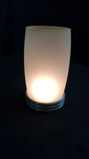PartyLite Mini Frosted Hurricane Candle Holder for Sale in Largo, FL